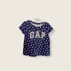 GAP Logo Ladybug Print Tee Size 3T